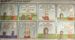 Dilbert as the Dumb Dull Materialist Zombie