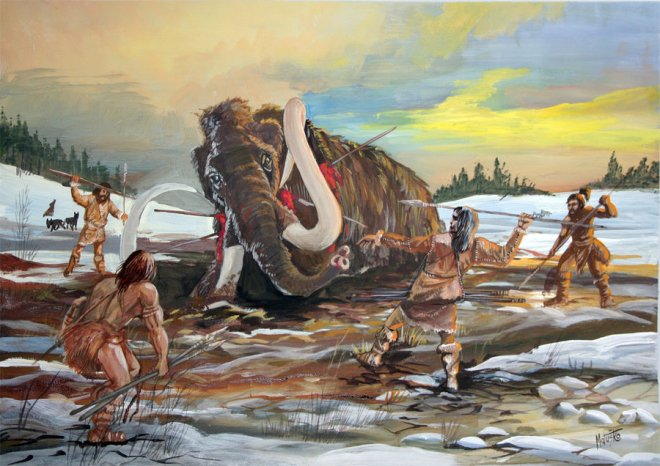 mammoth_hunting_ice_age_by_sedeslav