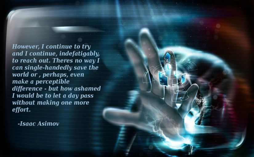 Asimov's Last Question